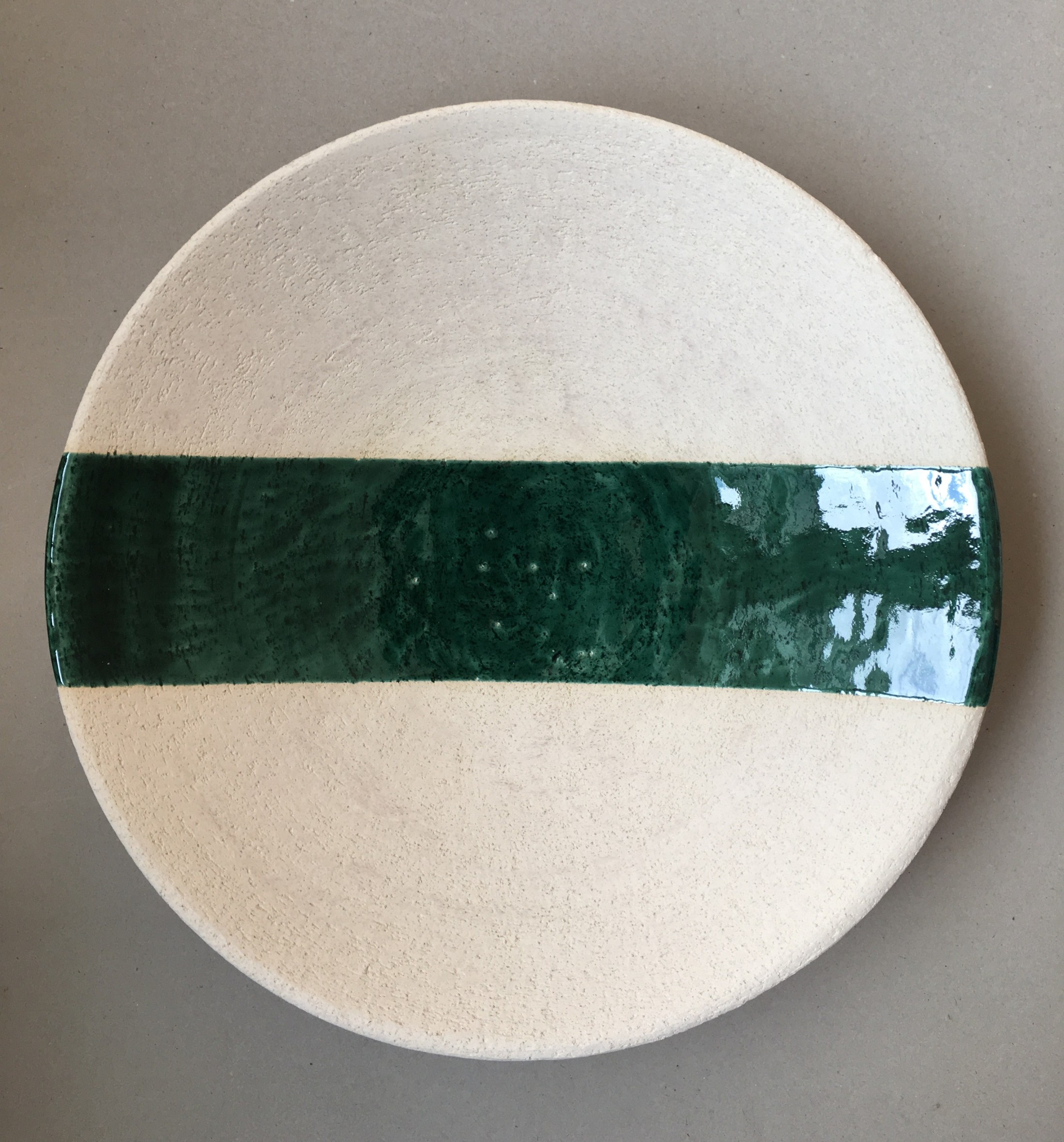 Typographic menu, plate I  Ceramic art work for TypocraftHelsinki17 exhibition at Gallery Lokal in Helsinki.